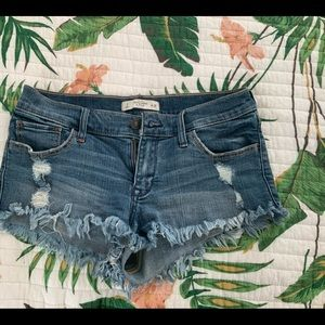 Abercrombie and Fitch Shortie Shorts